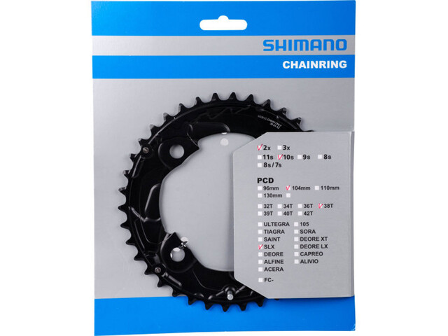Shimano SLX FC-M677 Chainring 10-speed black